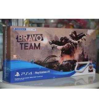 全新 PS4 Bravo Team 亡命小隊 + VR Aim Controller Gun 槍 (行貨套裝)