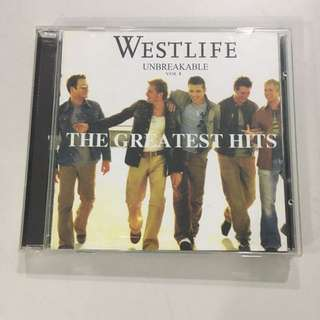 Westlife CD The greatest hits with poster