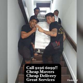 Cheap Delivery And Movers Services
