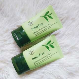 Innisfree Green Tea Cleansing Foam (30ml)
