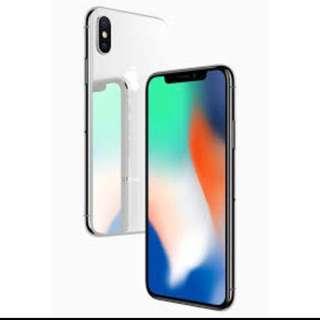 Trade iPhone X silver 64gb with Samsung s9+