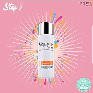 Aqua+ series soothing purifying toner
