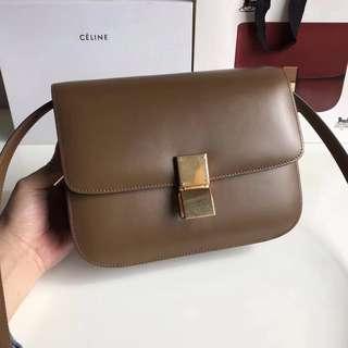 Box Bag Brown