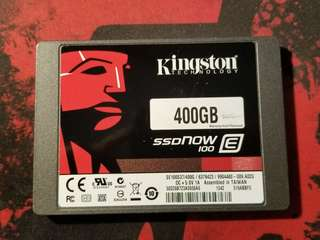 Kingston 400GB SSD Enterprise Class