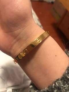 FAUX Cartier bracelet