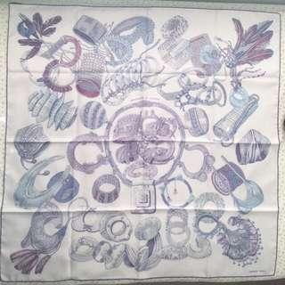全新 愛馬仕絲巾 90cm 四方絲巾 100% Silk Scraf New