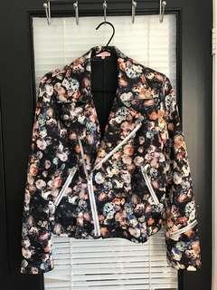 Mendocino Floral Biker Jacket