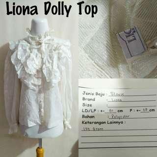 Liona Dolly Top | Pakaian Wanita | Atasan Import
