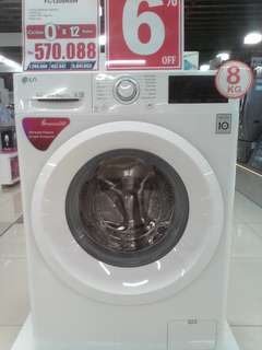 Cicilan mesin cuci LG tanpa kartu kredit proses cepat 3 menit lg promo 0%