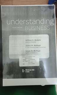 UNDERSTANDING BUSINESS tenth edition