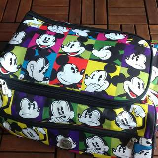 Disney mickey mouse suitcase trolley bag