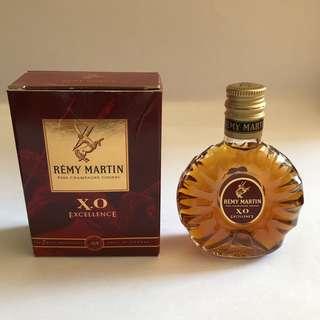 REMY MARTIN X.O 有盒50ml