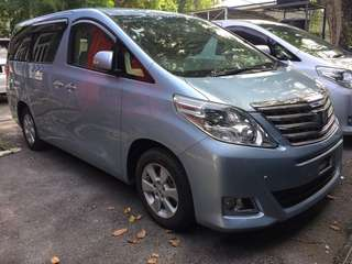 Toyota Alphard 2.4 X-Pack   (Recond Unreg  2013)