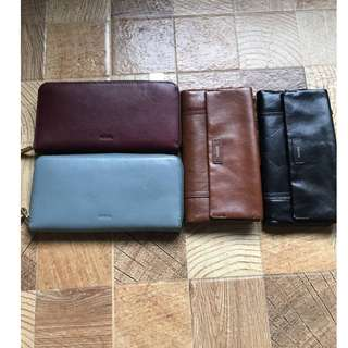 Fossil Long Wallet and Clutch