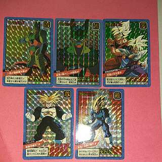 Dragonball powerlevel card set $58