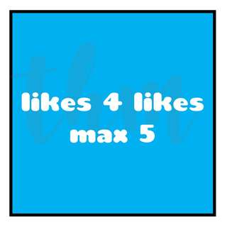 LFL | L4L | Like 4 Like | Likes | Like Exchange