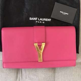 Saint Laurent Y Ligne Clutch