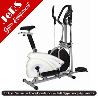 Elliptical Air Bike with Twister