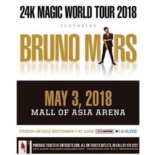Lowerbox B - BRUNO MARS 24k Magic World Tour 2018