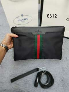 Prada & Gucci Cluth Bag