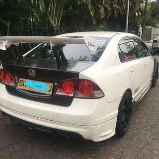 Honda Civic FD2 2.0L 5-Speed Automatic      -(SG)-  Year 2008
