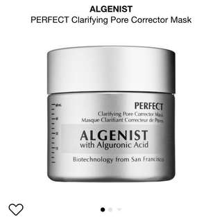 (Clear stock -50%)Algenist clarifying pore corrector mask