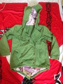 Kids hoodie parka jacket