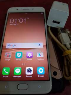 Oppo f1s 32gb with 16 gb sd card