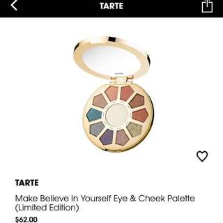 Tarte Make Believe In Yourself palette (limited edition)