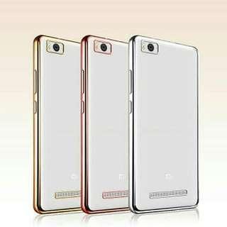 Samsung J2 Pro Casing Shinning Chrome Warna Transparan Soft
