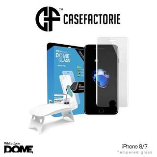 Whitestone Dome Full Adhesive Tempered Glass iPhone 7 / 8