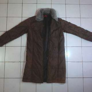 Winter Jaket Olive des Olive Original
