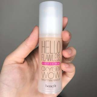 Benefit Cosmetics Hello Flawless! Oxygen Wow Liquid Foundation