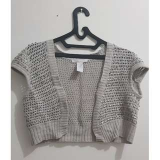 2 Bolero Rajut (Grey and Black)