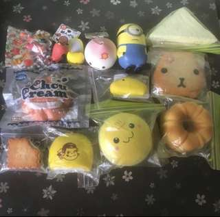 Squishies clearance $2-$5