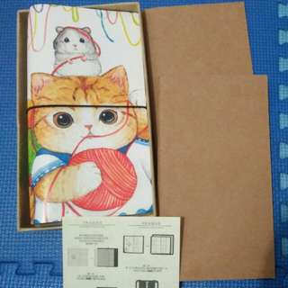 Traveler's notebook kucing