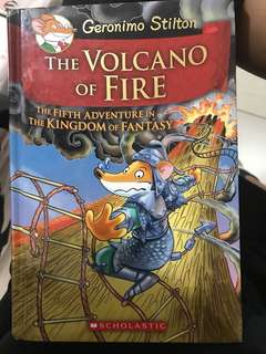 Geronimo Stilton The Volcano Of Fire