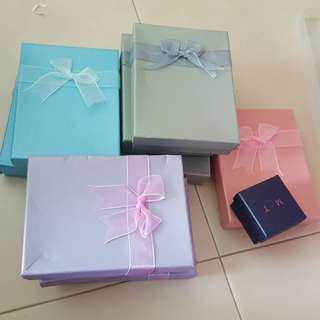 Assorted Jewellery gift boxes