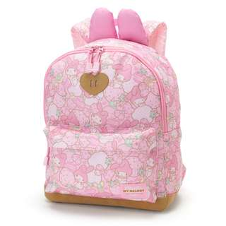 Japan Sanrio My Melody Kids Backpack L (big strawberry)