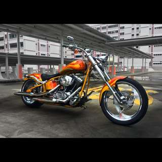 2022 Harley Davidson Heritage Softail Classic (FLSTCI) Customized and Carbureted