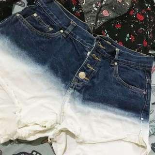Factorie Acid washed Shorts