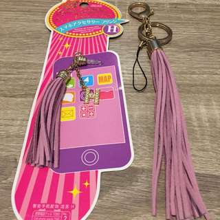 Aksesoris Hp earphone n gantungan kunci Initial H