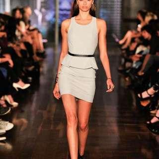 Kookai Grey Mini Dress