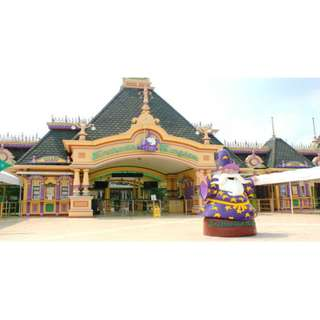 ENCHANTED KINGDOM REGULAR DAY PASS + AGILA TICKET (WEEKDAYS)