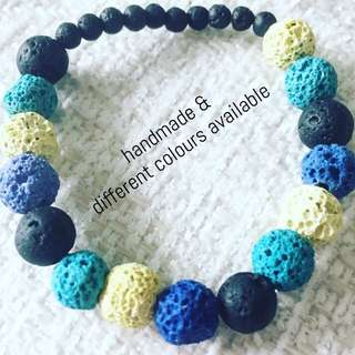 Lava stone bracelet for #essentialoils