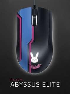 Overwatch D.Va Razer Abyssus Elite Mouse (brand new)