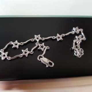 Silver Sterling Star Bracelet