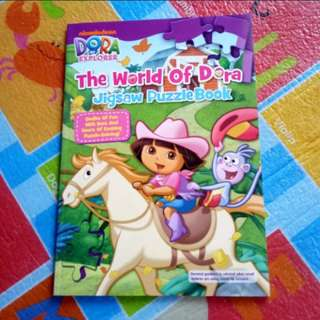 (BNEW) Dora Jigsaw Puzzle Book