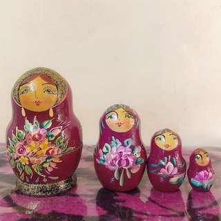 俄羅斯公仔一套4件 Matryoshka doll
