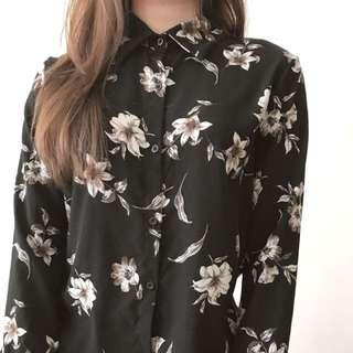 🚚 復古黑襯衫